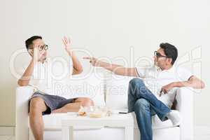 Men argument concept