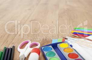 basteln und malen