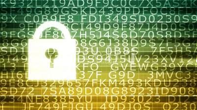 Digital Security and Threat 4k Loop