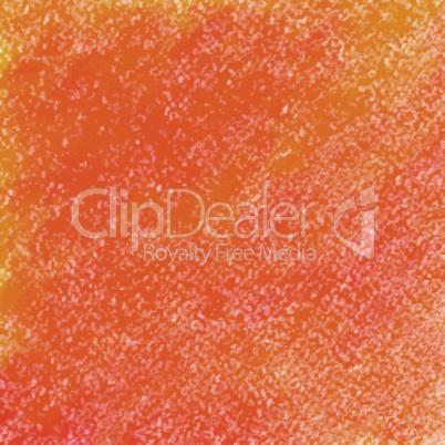 Orange pastel crayon vector background