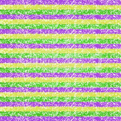 Vector Mardi Gras pastel crayon striped background