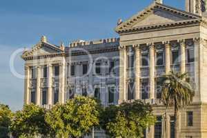 Legislative Palace of Uruguay in Montevideo