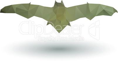 Triangle bat icon