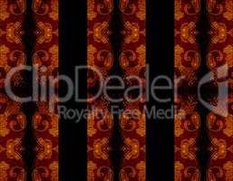 Stripe Ornate Decorated Background