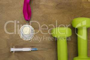 Medal obtained through use of doping