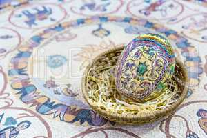 Easter painted eggs