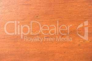 Scratched varnished wood