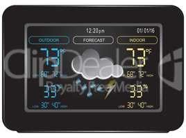 Weather Station with Forecast