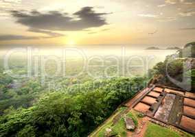 Ruins on Sigiriya