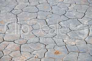 Erodierter Boden