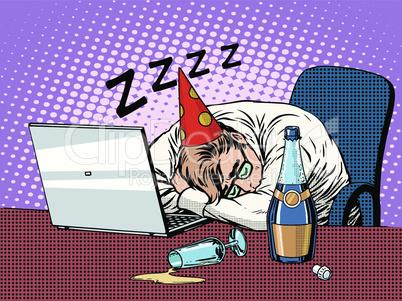 Hard birthday party