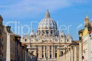 Rom Petersdom - Rome Papal Basilica of Saint Peter 03