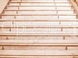 Stairway steps vintage