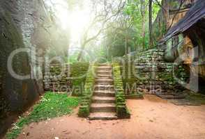 Staircase on Sigiriya