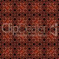 Islamic Style Geometric Complex Pattern