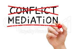 Conflict Mediation Concept