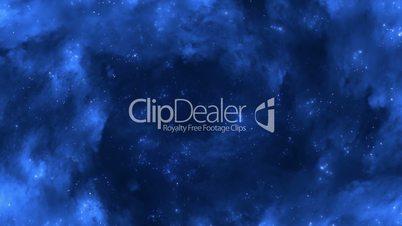 Space Flight Through The Spiral Nebula