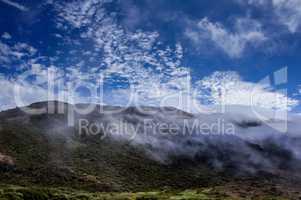 Northern California Landscape. Marin Headlands, Golden Gate National Recreation Area