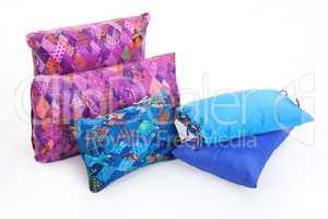 Multicoloured Down Pillows