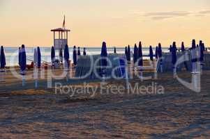 Grado Strand Sonnenuntergang - Grado beach sunset