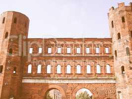 Porte Palatine, Turin vintage