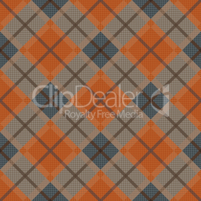 Diagonal seamless pattern in dim hues