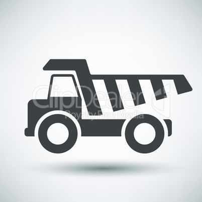 Tipper car  icon