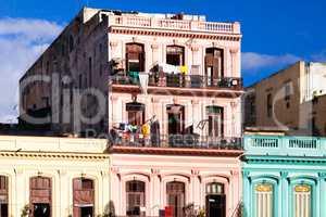 Kuba Architekturansicht in der Hauptstadt Havanna