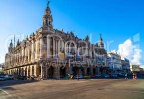 National Theater Gran teatro in Havanna Kuba