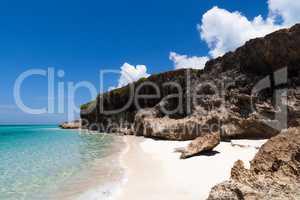 Küstenlinie mit Strandansicht in Varadero Kuba