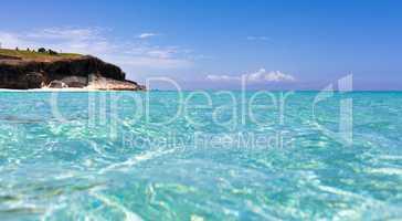 Küstenlinie von Varadero in Kuba