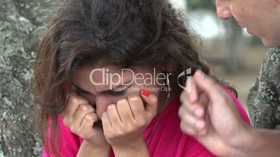 Emotional Woman Crying