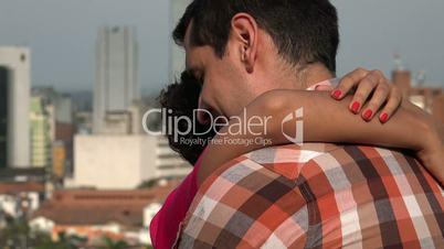 In Love Couple Dancing