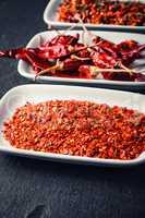 Varieties of spices.
