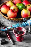 apples and hookah