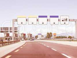 Motorway vintage