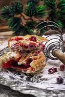 sponge cake for new year buffet