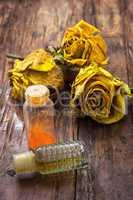 fragrant yellow roses