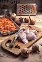 fillet of chicken meat