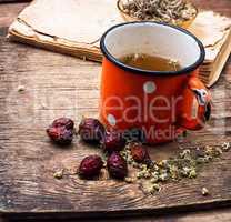 tea on medicinal herbs