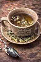 healing with chamomile broth