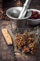 ancient healing recipe of herbs
