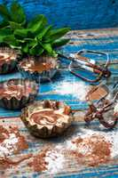 process of making coffee cupcakes