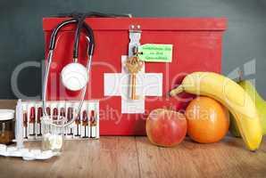 Obst oder Medizin