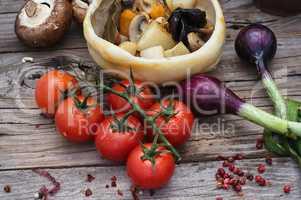 vegetable stir-fry recipe traditional Ukrainian cuisine