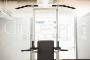Machine for pull ups
