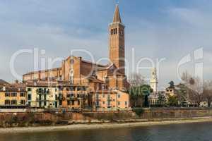 Sant'Anastasia in Verona, Italy