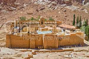 Monastery of Saint Catherine, Sinai, Egypt.