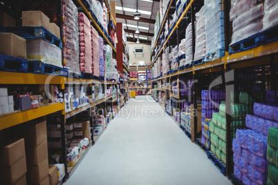 Warehouse isle