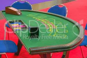 Casino Tisch Blackjack-Tisch